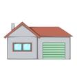 House icon cartoon style vector image