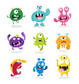 monster kids monster vector image