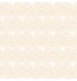 White flower pattern on light background vector image