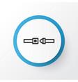 seatbelt icon symbol premium quality isolated vector image