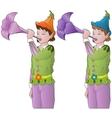 little elves vector image vector image