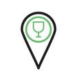 bar location vector image