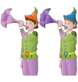 little elves vector image