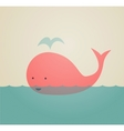 Cute Whale vector image