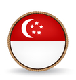 Singapore Seal vector image