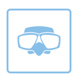 Icon of scuba mask vector image vector image