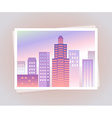 gradient12-city vector image vector image