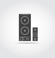 Audio system vector image vector image