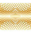 Abstract background circles red gold vector image