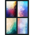 abstract background in modern style flat vector image