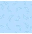 Romantic Angel Wings Seamless Pattern vector image