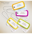 Label Tags Set vector image vector image