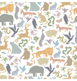 animals background seamless vector image