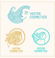 Set of logo design templates and abstract concepts vector