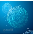 Abstract Geometry Sphere Background vector image