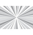 Abstract radial gray zoom speed for comic vector image
