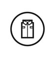 working clothes line icon on a white background vector image
