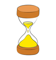 Sand watch vector image