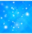 Blue Confetti Isolated vector image