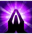 Prayer vector image
