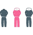 Sport suit for man vector image