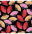 Pattern of fans vector image