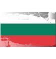 bulgaria national flag vector image vector image