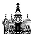 Moscow symbol resize vector image