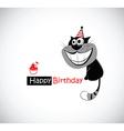 Happy Birthday KATS vector image