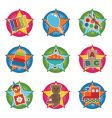 toddler toys vector image