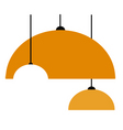 lamp bulb vector image