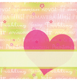 abstract springtime colorful vector image vector image
