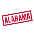 Alabama rubber stamp vector image