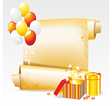 Background for your Congratulations vector image vector image