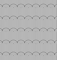 Striped flaked monochrome seamless pattern vector image vector image