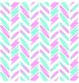 Seamless pattern feathers Boho zigzag minimal vector image
