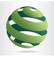 Sfera green vector image