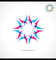 creative design symbol vector image