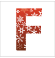 F Letter vector image