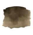 coffee brown watercolor gradient background vector image