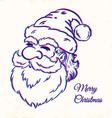 Santa CMYK vector image