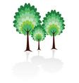 tree family vector image
