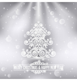 merry christmas happy new year holiday background vector image vector image