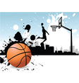 Basketballer vector image