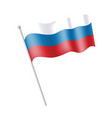 ving flag russia vector image