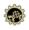 gears element vector image