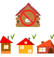 new house vector image