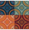 collection of four colorful tribal ethnic seamless vector image