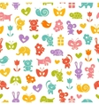 Baby seamless wallpaper vector image vector image