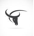 image of an buffalo design vector image